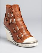Ash Sneakers Thelma Wedge - Lyst