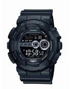G-Shock Men'S Xl Digital Black Resin Strap Watch Gd100-1B - Lyst