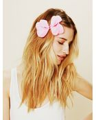 Free People Flower Bow - Lyst