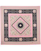 Versace Foulard Square Scarf Light Pink - Lyst