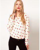 ASOS Collection Asos Shirt with Penguin Print - Lyst