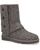 """Ugg Ugg® Australia Classic """"Cardy"""" Knit Boots - Lyst"""