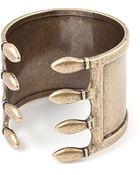 Vanessa Mooney Caged Cuff Brass - Lyst