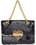 Just Cavalli Medium Fabric Bag - Lyst