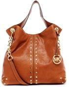 Michael Kors Uptown Astor Large Shoulder Tote - Lyst