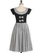 ModCloth Dots To Think About Dress - Lyst