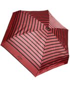 Jean Paul Gaultier Striped Folding Umbrella Red/Black - Lyst