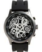 Titanium Rubber Strap Watch - Lyst