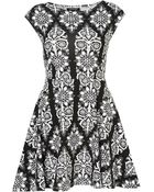 Topshop Chinoiserie Flippy Tunic - Lyst