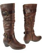 Pikolinos Highheeled Boots - Lyst