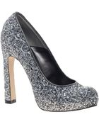 Dune Bo Sequin Court Shoes - Lyst