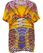 Mary Katrantzou Honeyrose Pencil Print Top - Lyst