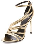 B Brian Atwood Lesina Strappy Sandals - Lyst