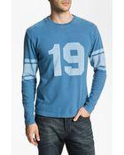 Red Jacket Johnny Unitas Bulldog Long Sleeve Tshirt - Lyst