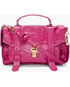 Proenza Schouler Ps1 Medium Purple Satchel - Lyst