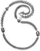 Jessica Simpson Silver Tone Long Link Chain - Lyst