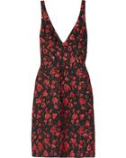 Thakoon Hearts and Lips Textured brocade Dress - Lyst