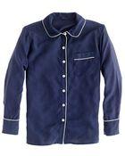J.Crew Collection Silk Pajama Shirt - Lyst