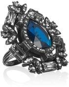 Lanvin Oversized Swarovski Crystal Ring - Lyst