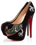 Christian Louboutin Highness Tattoo Dragon - Lyst