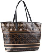 C. Wonder Coated Canvas Striped Logo Tote - Lyst