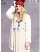 Free People Double Pom Pom Beanie - Lyst