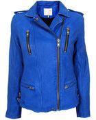 IRO Anabela Leather Jacket - Lyst