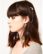Asos Jewelled Hair Ear Cuff - Lyst
