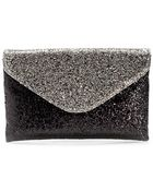 J.Crew Invitation Clutch in Glitter - Lyst