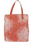 Diane von Furstenberg Large Fabric Bag - Lyst