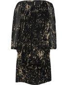 IRO Alba Printed Georgette Dress - Lyst
