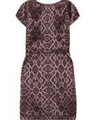 Mackage Intarsia Mini Dress - Lyst