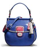 Coach Leather Colorblock Bag - Lyst