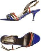 Roberto Cavalli Highheeled Sandals - Lyst