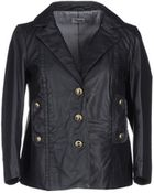 Philosophy di Alberta Ferretti Leather Outerwear - Lyst