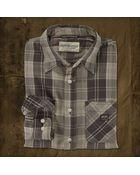Ralph Lauren Scholes Plaid Ward Shirt - Lyst