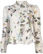 3.1 Phillip Lim Corded Floral Moto Jacket - Lyst