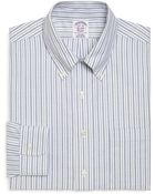 Brooks Brothers Supima Cotton Noniron Regular Fit Alternating Bold Stripe Brookscool Dress Shirt - Lyst