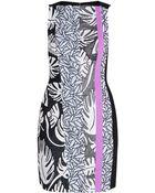 Diane von Furstenberg Yianna Embroidery Dress - Lyst