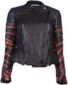 3.1 Phillip Lim Fitted Motorcycle Jacket - Lyst