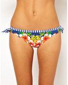 Seafolly Aloha Tie Side Bikini Pant - Lyst