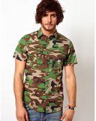 Ralph Lauren  Shirt with Camo Pattern - Lyst