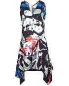 Zero + Maria Cornejo Sleeveless Print Dress - Lyst