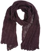 Miss Sixty Oblong Scarves - Lyst
