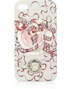Swash Numbers Printed Iphone 4 Case - Lyst