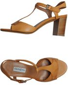 Fratelli Rossetti Highheeled Sandals - Lyst