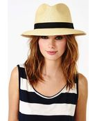 Nasty Gal Panama Hat Tan - Lyst