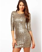 TFNC Sequin Bodycon Dress - Lyst