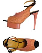 Joanne Stoker Platform Sandals - Lyst