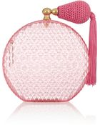 Charlotte Olympia Pink Scent Perfume Bottle Perspex Clutch - Lyst